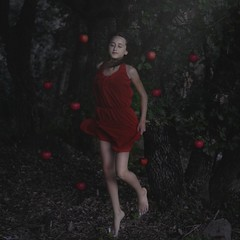 Ultraviolence (Art by Hugo. M) Tags: wood tree apple girl beauty dream queen disaster tenderness wodd firl intothewood brookeshaden