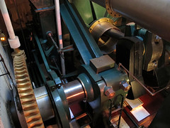 Steam engine (Barry C. Austin) Tags: portsmouth hmswarrior