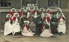 Davidson Road War Hospital, Croydon, London, England - Nov 27th, 1917 (Aussie~mobs) Tags: croydon london ww1 davidsonroad warhospital nurse staff military firstworldwar lestweforget aussiemobs