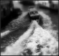 Ambulance (Enne Piero) Tags: venice speed high waves ambulance alta venezia channel canale velocit onde ambulanza