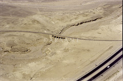 Railway Viaduct (Jurf ed-Darawish) (APAAME) Tags: archaeology ancienthistory middleeast viaduct airphoto aerialphotography hejaz scannedfromnegative aerialarchaeology hedjazrailway