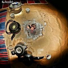 #food #coffee #tea #Fisheye #Fish_eye #Fish-eye (photography AbdullahAlSaeed) Tags: food coffee tea fisheye