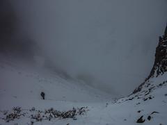Llegando al filo (Jc_________) Tags: chile primavera del trekking hiking nieve mai cordillera cajndelmaipo diedro reginmetropolitana andescentrales valledelarenas