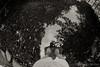 me on pond (Takeshi Nishio) Tags: uv 人物 ilfordfp4plus nikonfm3a 白黒 フィルム 16mmfisheye ネガ ei125 spd1120deg7min filmno798