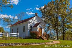 Hyde Chapel (Nic512) Tags: fall church wisconsin seasons unitedstates places things ridgeway hydewi