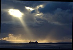 Liverpool Bay (sab89) Tags: cloud rain port liverpool bay ships estuary formation shipping mersey wirral