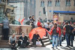 sciopero  generale regionale CGIL (lorenzog.) Tags: italy nikon italia bologna strike emiliaromagna 2014 d300 sciopero cgil fiom jobsact 16ottobre2014