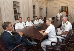 6-12-15 Governor Bill Haslam meets with Vice Admiral Robin R. Braun Chief of Navy Reserve Commander, Navy Reserve Force (Governor Bill Haslam) Tags: usa tn nashville 61215 governorbillhaslam navyreserveforce viceadmiralrobinrbraun chiefofnavyreservecommander