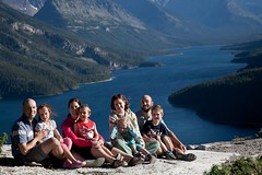 Robi Family in Waterton