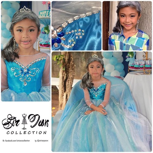 Glaizas 7th Birthday Frozen My Version Of Queenelsa Gown By Yours