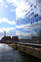 Invisible Architecture (innpictime ζ♠♠ρﭐḉ†ﭐᶬ₹ Ȝ͏۞°ʖ) Tags: water glass sky architecture windows reflection waterfront liverpool albertdock mersey mannisland dock pumphouse glazed 534038922993278 mereyside cloud pierhead