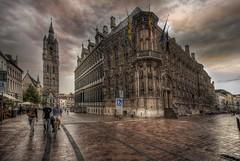 ... I V ... (franma65) Tags: gante gent ghent belgica ayuntamientodegante