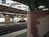 map made of tiles at the platform (kasa51) Tags: map station platform tile yokohama japan 駅 プラットフォーム 地図 タイル絵 keikyuline 京急
