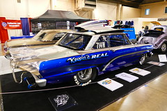 1962 Chevy SuperGas (bballchico) Tags: 1962 chevrolet nova supergas dragcar carshow davidwashington gnrs2017