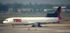 L-1011 | EI-TBG | LGW | 19960828 (Wally.H) Tags: l1011 lockheed tristar eitbg aerturasteoranta tbgtours thornthonbrownegroup lgw egkk london gatwick airport