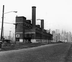 The Central Railroad of New Jersey maintenance plant at end of Johnston Avenue by the Hudson River. Like the rest of the railroad, it was abandoned in 1967. The World Trade Center towers rise up to the sky in the distance. Jersey City. March 1973 (wavz13) Tags: oldphotographs oldphotos 1970sphotographs 1970sphotos oldphotography 1970sphotography vintagephotographs vintagephotos vintagephotography filmphotos filmphotography vintagenewyorkphotography vintagenewyorkphotographs vintagenewyorkphotos oldworldtradecenter vintageworldtradecenter twintowers originalworldtradecenter industrial industrialphotography oldfactories vintagefactories railroadphotos railroadphotography railroads vintagerailroads vintagerailroadphotography oldrailroads oldrailroadphotography oldbuildings vintagebuildings 19thcentury oldconstruction vintageconstruction bleak noir noire dark abandonedbuildings oldtrainstations vintagetrainstations abandonedtrainstations oldtrainterminals vintagetrainterminals antiquetrainterminals abandonedtrainterminals jerseycityphotographs jerseycityphotos oldjerseycityphotography oldjerseycityphotos oldjerseycity vintagejerseycity vintagejerseycityphotography jerseycityhistory urbanphotography urbanphotos urbanscenes cityphotography newjerseyphotographs newjerseyphotos oldnewjersey vintagenewjersey newjerseyhistory urbanwasteland manhattanskyline newyorkskyline 126film