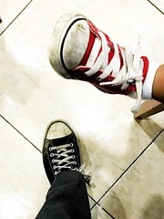 Like father like son! 365 Project 45/365 (Rod Anzaldua) Tags: converse father son sneakers