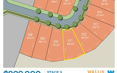 Lot 911, Medlar Circuit, Gillieston Heights NSW