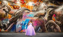 Maddie @ Bowery Wall (ZUCCONY) Tags: 2017 maddison bobby zucco bobbyzucco pedrozucco street art graffiti night bowery ny nyc new york mural murals