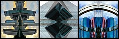 Chine 2016 - Hong Kong (philippebeenne) Tags: chine hongkong china architecture espace space geometric abstract miroir triptyque exposition spatial spatiaux