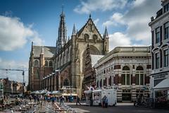 Grote Markt, Haarlem (pierre bakker) Tags: haarlem noordholland netherlands nl building church grotemarkt archtecture ngc