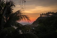 Puerto Escondito Beach sunset