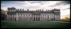 Greenwich Naval College (kirby126) Tags: greenwichlonewalk090417evening greenwich london lightroom impressive architecture royal thames canon6d eos adventure sk history historic naval navy college tourist evening flickr canonef24105mmf4lisusm great britain england