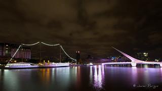 Fragata Libertad & Puente de la Mujer