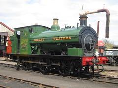 IMG_4697 - GWR Hudswell Clarke Saddle Tank 813 (SVREnthusiast) Tags: didcotrailwaycentre didcot railway centre gwrhudswellclarkesaddletank813 gwr hudswellclarke saddletank 813