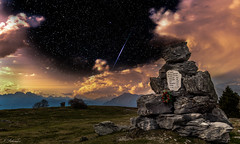 Back At That 1944 Night... (Nik Salvador) Tags: montain monument 1944 ww2 time