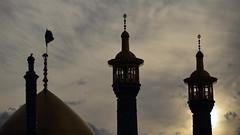 Persian silhouettes. Shrine (ruben garrido lopez) Tags: iran persia qom shrine fatimamasumehshrine silueta silhouettes nikond5100 architecture arquitectura