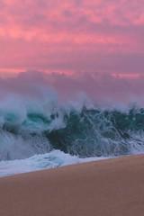 Fury (francisco.chagas51) Tags: hawaii northshore oahu usa chaotic clouds coastal island ocean power sea seascape shorebreak sunset surf swell tropical water
