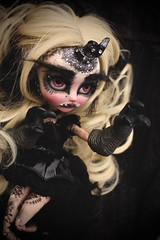 Doily Ink (Vali.Tox.Doll) Tags: pullip fc full custom makeup doll groove jun planning horn dark reptile paws yomi outfit