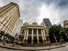 Teatro Municipal do Rio de Janeiro (mariohowat) Tags: samyang8mm samyang fisheye olhodepeixe teatromunicipal riodejaneiro brasil brazil