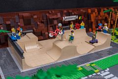 #legocity sk8park (KEEP_ON_BRICKING) Tags: lego city skatepark skate park extreme gravity games minifigure minifigs bmx skateboard awesome 2017 new moc keeponbricking