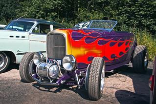 Ford Model B Roadster Hot Rod 1932 (9670)
