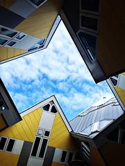 The Cube Houses Rotterdam (Un tocco di zenzero) Tags: rotterdam rooterdamfoodieguide myrotterdam visitholland visitrotterdam