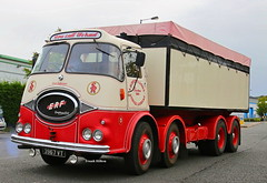ERF KV Eight Wheel Alloy Bulk Tipper Classic Truck Frank Hilton IMG_8705_1_1 (Frank Hilton.) Tags: classic truck lorry eight wheel maudsley aec atkinson albion leyalnd bristol austin outside heavy haulage crane 8 axle