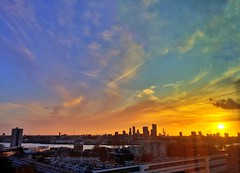 Vernal Equinox 2017 (Joey Johannsen) Tags: vernalequinox sunset 12thfloorview rotterdamschoolofmanagementerasmusuniversity netherlands rotterdamzuid
