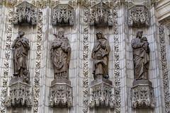 SEVILLA - LA CATEDRAL (DETALLE 2) (mflinera) Tags: sevilla españa catedral andalucia