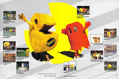 Pac-Man Day, April 3, 1982 (Tom Simpson) Tags: joystik pacman ghost vintage 1982 1980s gaming videogame retrogaming