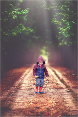 Sunshine after the rain (Ethan xxvi) Tags: kid kidsphotography bokeh bokehlicious river rain sweater cute boy beautiful backlit backlight babyboy tree portrait pretty people outdoor spring weather with hoody canon canon5d 100mm 100mm28f ethanxxvi dreamy softlight colorful