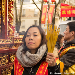 Nouvel an chinois (Lionelcolomb) Tags: xiii ° arrondissement canon sigma fête happy street celebration new year paris îledefrance france fr chinese religion portrait human smoke spiritual