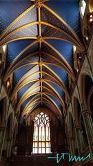 Interior of The Notre Dame Cathedral, Ottawa, Canada (ssspnnn) Tags: church cathedral catedral iglesia igreja templo canada notredamecathedralottawa samsung galaxyedge snunes spnunes nunes spereiranunes interiordesign gothic archdioceseofottawa catholic art arte ottawa