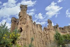 Estoraques (Tato Avila) Tags: colombia colores cálido cielos naturaleza nubes nikon desierto desiertodelatatacoita estoraques arboles vida vegetal piedras