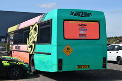 ABW 310X (markkirk85) Tags: ex vud33x leyland leopard willowbrook warrior learn drift new city oxford 41982 33 with ecw body rebodied 101990 for 633 vud 33x bus buses rockingham speedway abw 310x abw310x woottens luxury travel