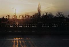 Haze (Batuhan A Priori) Tags: analogue analog analogphotography analoguephotography analogica analogcamera artwork art artfilm film filmphotography filmart filmcamera fujifilm filmcommunity 35mm 35mmfilm 35mmfilmphotography exposure eskişehir sunset street sky canon canona1 color colors colorphotography haze road roadside