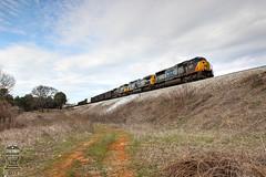 CSX Q647-16 (Steve Hardin) Tags: emd sd70mac ac4400cw csx wa westernatlantic railroad railway railfan emerson ga georgia manifest freight train yn2