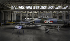 Hawker Hunter (Duxford) (Darwinsgift) Tags: hawker hunter aircraft aviation duxford imperial war museum photomatix hdr nikon d810 multiple exposure tripod carl zeiss distagon 15mm f28 t