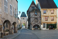 Noyers, Burgundy (surreydock) Tags: eu village colombages old ancient burgundy yonne medieval france lesplusbeauxvillagesdefrance pretty picturesque europe nikon d7100
